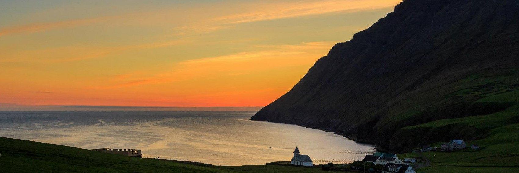 sunset-faroeislands-guesthouse-banner